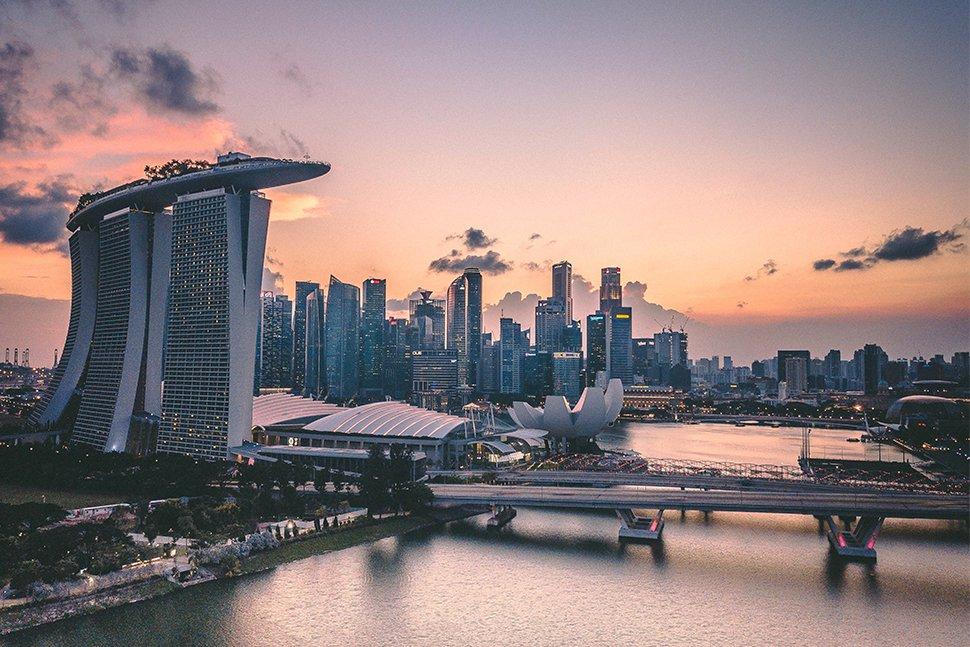 singapore financials